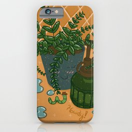 Garden Club iPhone Case