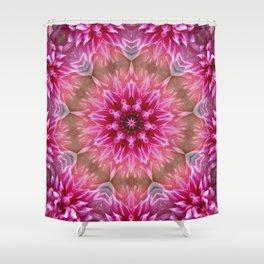 Shimmerflower Shower Curtain
