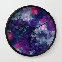 CUBIST ROSE GARDEN Wall Clock