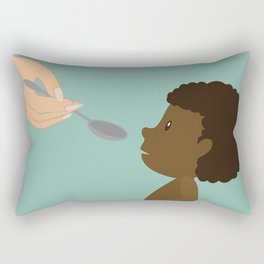 A man true wealth is the good he does in this world Rectangular Pillow