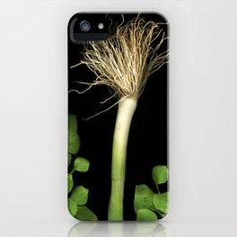 Bedhead Scallion iPhone Case