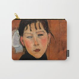"""Amedeo Modigliani """"Marie (Marie, fille du peuple)"""" Carry-All Pouch"""