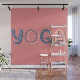 Yoga Wall Mural
