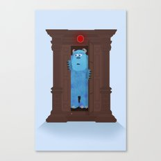 Monster's Wardrobe Canvas Print