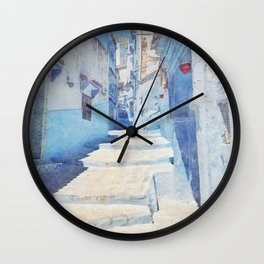 Mediterranean journey-Morocco Wall Clock