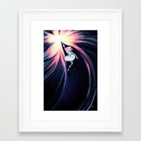 rio Framed Art Prints featuring Rio by Kecky