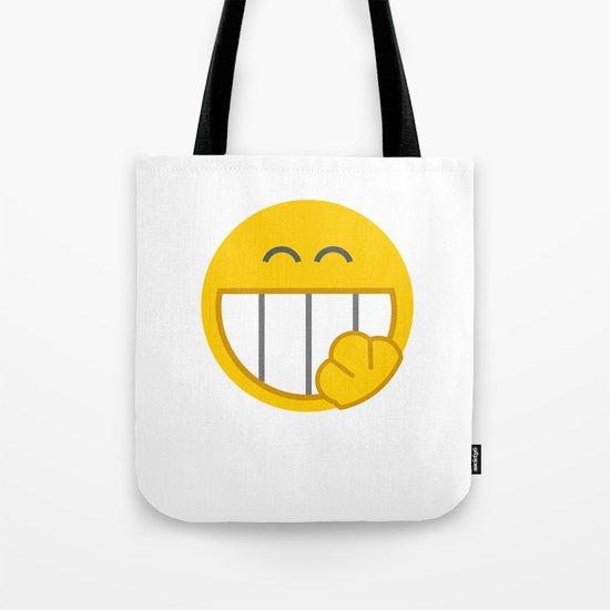 yellow smile Tote Bag