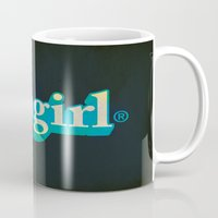 fangirl Mugs featuring Fangirl by Aaron Synaptyx Fimister