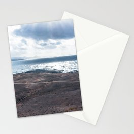 Cloudy sunset on Gran Canary Stationery Cards