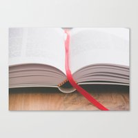 bible Canvas Prints featuring Bible by Andrea Anderegg Photography