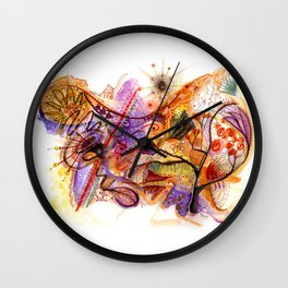First of Fall Wall Clock