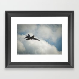 Swiss Airforce F-18 Hornet #2 Framed Art Print