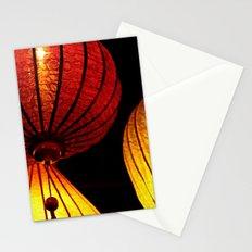 Neon Lanterns Stationery Cards