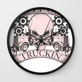 trucker gift truck long-distance truck lorry truck Wall Clock