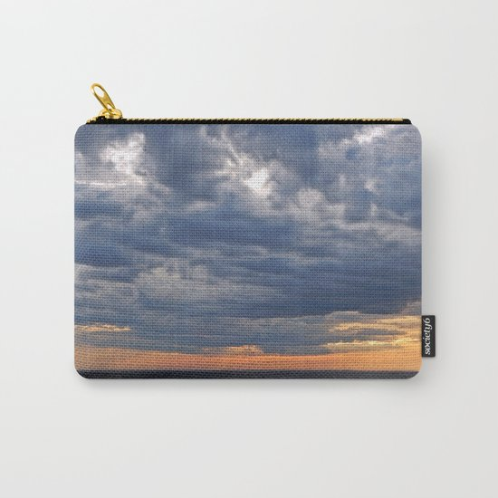 Dramatic Skies Over the Sea Carry-All Pouch