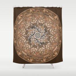 Terra Mandala Shower Curtain