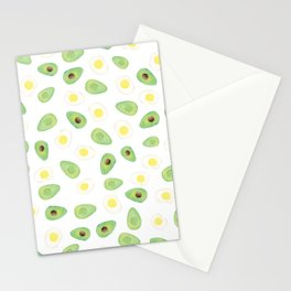 Avocados & Eggs Stationery Cards