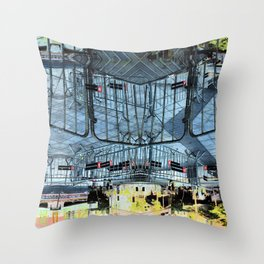 Summer space, smelting selves, simmer shimmers. 28 Throw Pillow