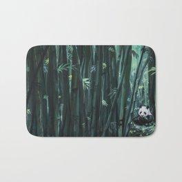 Panda in the Bamboo Forest Bath Mat