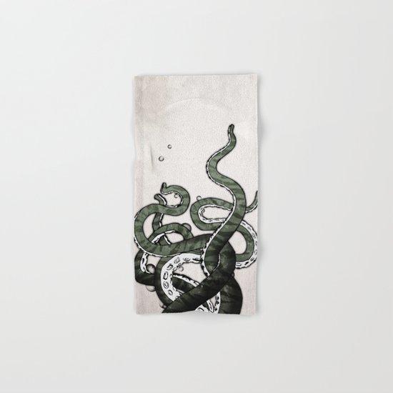Octopus Tentacles Hand & Bath Towel