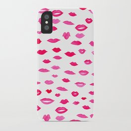 Kiss Kiss Bang Bang iPhone Case