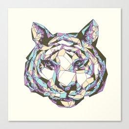 Crystal Tiger Canvas Print