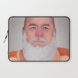 Mugshot Santa Claus Laptop Sleeve