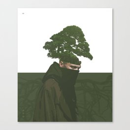 enraizado Canvas Print