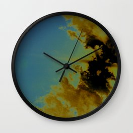 there's sulfur in the air Wall Clock
