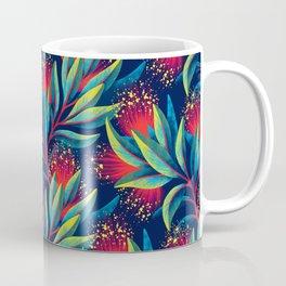 Pohutukawa - Red / Green Coffee Mug