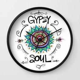 Gypsy Soul Wall Clock