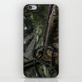 Dashed Board Abandoned Truck Dashboard Shattered Windshield Rusty Car iPhone Skin