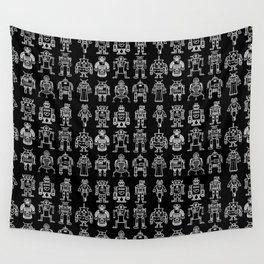 Robots 1 Wall Tapestry