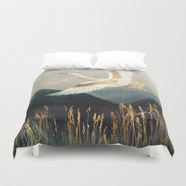 Elegant Flight Duvet Cover