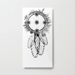 Cosmic Dreamcatcher Metal Print