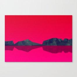 Landscape study 02. Canvas Print