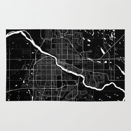 Saskatoon - Minimalist City Map Rug