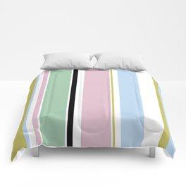 Pastel Stripes Comforters