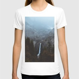 Yosemite Falls and the Mist T-shirt