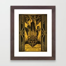 Biotropolis Framed Art Print
