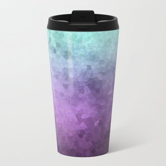 Abstract XI Metal Travel Mug