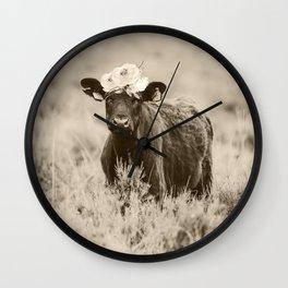 Daisy- Cream Wall Clock