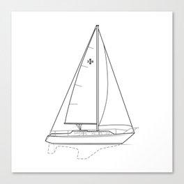 Islander 36 Canvas Print