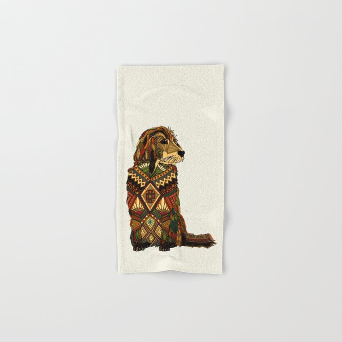 Golden Retriever ivory Hand & Bath Towel