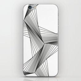 crazy hexagons iPhone Skin