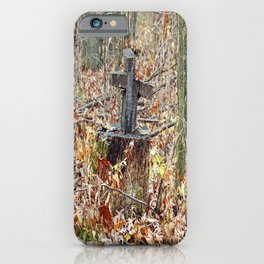 Cross in the Woods iPhone Case