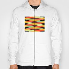 multicolor diamond pattern Hoody