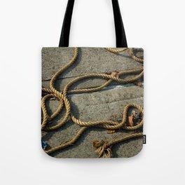 Maritime Ropes Tote Bag