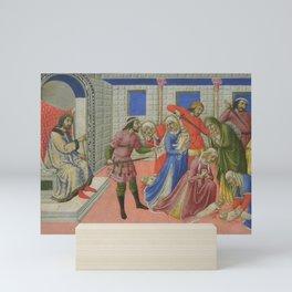 Sano di Pietro - The Massacre of the Innocents Mini Art Print