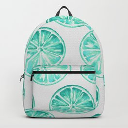 Turquoise Citrus Backpack